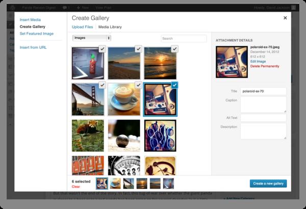 Photo Gallery Tutorial TCNJ WordPress